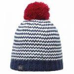 Buff Knitted & Polar Hat Neper Navy Plum