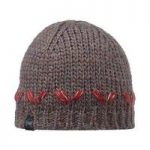 Buff Knitted Hat Lile Brown